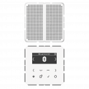 Jung DABCD1BTWW DAB+ m. Bluetooth-Set Mono Smart Radio