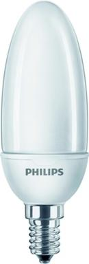 Philips 40526100 Energiesparlampe Softone Candle 8W WW E14 220-240V 1PF/6