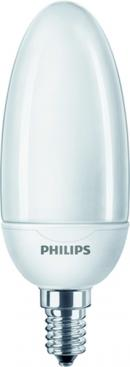 Philips 68095600 Energiesparlampe Softone Candle 12W WW E14 220-240V 1PF/6