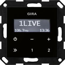 gira 228405 up radio rds ohne lautsprecher system 55. Black Bedroom Furniture Sets. Home Design Ideas