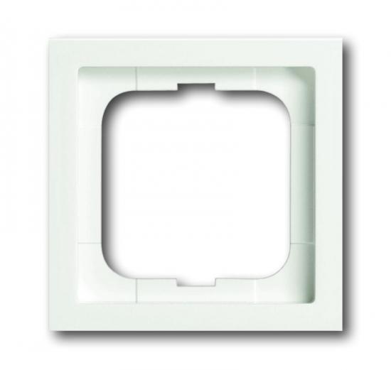 busch jaeger 1721 884k future linear abdeckrahmen 1 fach rahmen studiowei matt. Black Bedroom Furniture Sets. Home Design Ideas