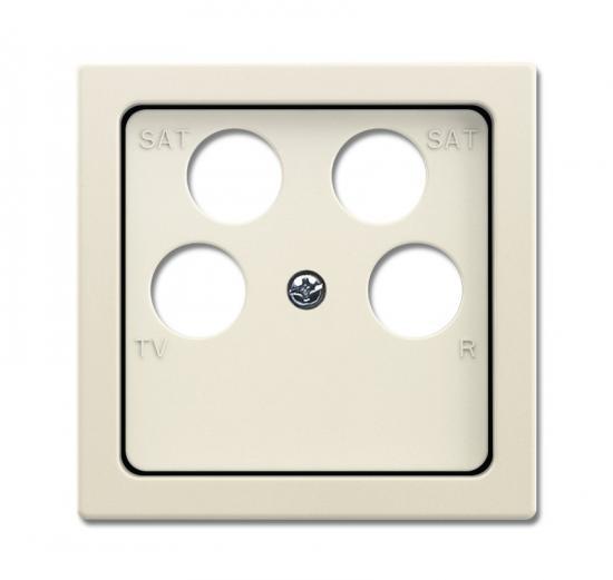 busch jaeger 1743 10 04 82 zentralscheibe elfenbeinwei. Black Bedroom Furniture Sets. Home Design Ideas