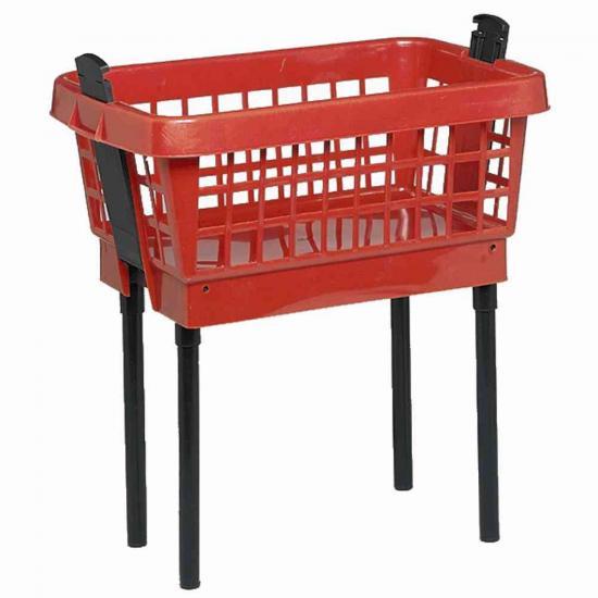 lockweiler 502 w schekorb mit f en rot 65 cm. Black Bedroom Furniture Sets. Home Design Ideas